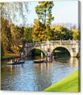Cambridge 4 Canvas Print