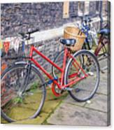 Cambridge Bikes 1 Canvas Print