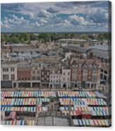 Cambridge Market Canvas Print