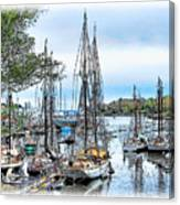 Camden Bay Harbor Canvas Print