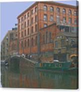 camden lock London Canvas Print