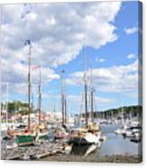 Camden Maine Harbor Canvas Print
