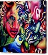 Cameleon Canvas Print