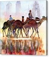 Camelrider Canvas Print