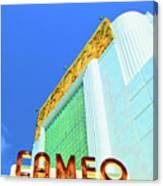 Cameo Theatre Canvas Print
