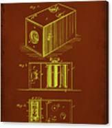 Camera Patent Drawing 1a Canvas Print