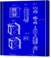 Camera Patent Drawing 2h Canvas Print