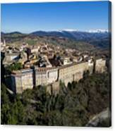 Camerino Italy - Aerial Image Canvas Print