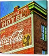 Cameron Patterson Hotel Canvas Print
