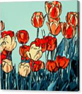 Camille's Tulips - Version 3 Canvas Print
