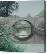Camillus Canal Canvas Print