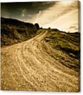 Camino Rural Canvas Print
