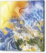 Camomile. 2010 Canvas Print
