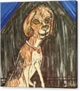 Camp Beagle Canvas Print