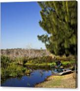 Camp Holly On The St Johns River In Florida Canvas Print