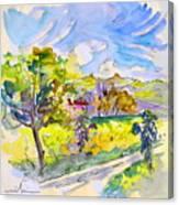 Campagne Des Pyrenees Canvas Print