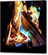 Campfire In July Canvas Print