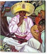 Camping Zapatistas, 1922 Canvas Print