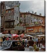 Campo Dei Fiori Canvas Print