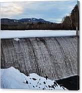 Campton Pond Dam  Canvas Print