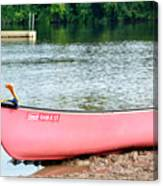 Can You Canoe Canvas Print