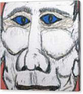 Can You Hear Me Major Tom Canvas Print