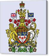 Canada Coat Of Arms Canvas Print