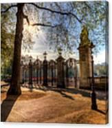 Canada Gate Green Park London Canvas Print