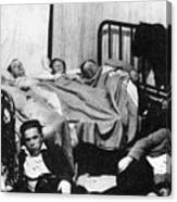 Canada: Great Depression, 1930 Canvas Print