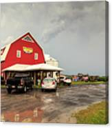 Canadian Farm After Storm Canvas Print