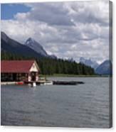 Canadian Rockies # 10 Canvas Print