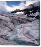 Canadian Rockies Glacier Canvas Print