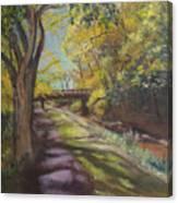 Canal At Erwinna Canvas Print