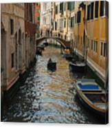 Canal Crusin Canvas Print