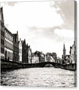 Canal Life Canvas Print