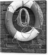 Canal Lifesaver Canvas Print