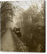 Canal Canvas Print