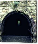 Canal Tunnel Canvas Print