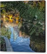 Canal View  Canvas Print