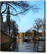 Canals Of Amsterdam IIi Canvas Print