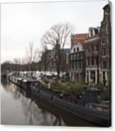 Canals Of Jordaan Canvas Print