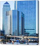 Canary Wharf 10 Canvas Print