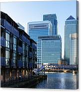 Canary Wharf 7 Canvas Print