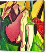 Cancion Del Pajaro  Canvas Print