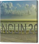 Cancun In 2015 Canvas Print