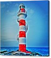 Cancun Lighthouse  Canvas Print