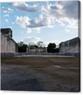 Cancun Mexico - Chichen Itza - Great Ball Court - Open End Canvas Print