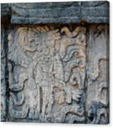 Cancun Mexico - Chichen Itza - Mosaic Wall Canvas Print