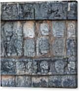 Cancun Mexico - Chichen Itza - Skull Platform Canvas Print