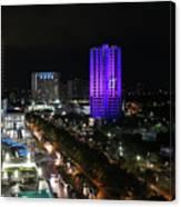 Cancun Mexico - Downtown Cancun Canvas Print